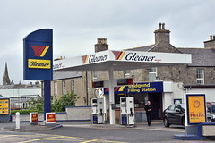 Gleaner, Thurso Scottish Highlands. (EYBusman) Tags: gleaner petrol gas gasoline filling service station bridgend thurso scottish highlands eybusman garage