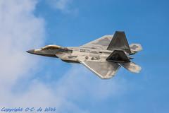 F-22-3697 (_OKB_) Tags: riat2017 sigmalens sigma150600sports lockheedmartinf22raptor f22 usaf uk airshow fighterjet stealth