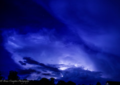 Passing Storm (briancrumpton74) Tags: summer storms lightning nikon virginia