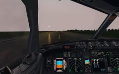 Back Track to RWY14 in SBPJ (danielrds) Tags: prepar3d p3d 3d b738 b737 800 prgxz brasilia sbbr sbpj palmas brazil online ivao boeing airlines glo gol g3 texture high i7 intel sky aviation virtual flickr aviaçãovirtual aviacao aviacaovirtual cabine aviao