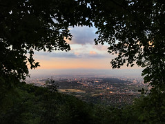 (lunat1k) Tags: framed vitosha mountain sofia bulgaria instasofia iphone trail hiking outdoor nature sunset