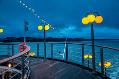 Cruise Early Morning (Tony Shertila) Tags: 20170416043352 geo:lat=6040096667 geo:lon=525112167 geotagged hordaland kleppestø nor norway skålevika europe fjord fyord deck ship cruise mountans outdoor sky clouds morning dusk