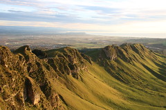 Morning light on Te Mata hills (Karen Pincott) Tags: hawkesbay havelocknorth tematahills tematapeak rural newzealand clouds earlymorning winter