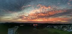 Panoramic Sunset (tomquah) Tags: sunset panoramic landscape clouds sky singapore huaweimate9 tomquah nwn