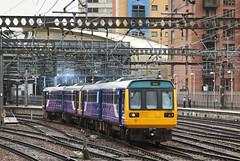 142009 & 142052 Leeds 10/07/2017 (Flash_3939) Tags: 142009 142052 class142 pacer dmu dieselmultipleunit pair double northern leeds lds station 2c18 fone rail railway train uk july 2017
