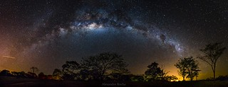 Milky Way arch in the middle of Brazil