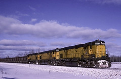 It Was Cold (ac1756) Tags: cnw chicagonorthwestern northwestern alco c628 6712 brampton michigan