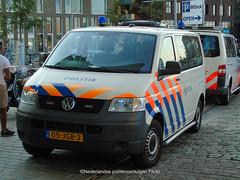 Waterpolitie Volkswagen T5 (Nederlandse politievoertuigen) Tags: politie police polizei volkswagen t5 amsterdam duch dutch nederlandse 05jgb4