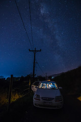 Gotcha (Take your camera and make some magic.-) Tags: nikon d7000 tokina 1116mm valdivia chile star stars estrellas night noche sky paisaje landscape