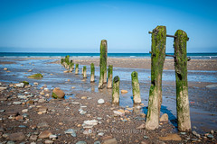 Sandsend (jameshowardphotography) Tags: sandsend groynes green beach pebbles water north northyorkshire northeast northern nikon yorkshire whitby moss