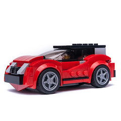 75899 Ferrari ALT 1 (KEEP_ON_BRICKING) Tags: lego speed champions 75899 ferrari moc alternate alternative mod set build remake remix keeponbricking