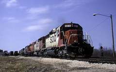 Just Looks Wrong (ac1756) Tags: soo sooline wisconsincentral wc emd sd402 6613 sooyard detour saultstemarie michigan