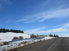 Roadside compound, snow fields, Middle Atlas near Azrou, Morocco (Paul McClure DC) Tags: middleatlas morocco jan2017 almaghrib ifrane azrou mountains winter scenery snow northafrica