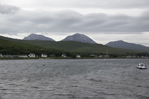 Paps of Jura from Craighouse Pier