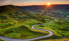 Long and Winding Road (mikedenton19) Tags: sunset peakdistrict nationalpark derbyshire castleton mamtor mam tor road hills sun landscape