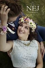 Tickle (nataliejolley) Tags: bride groom romantic flowercrown lacedress weddingdress wedding herefordshire malvern hills