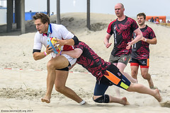 H6G64088 Ameland Invites v Baba Bandits (KevinScott.Org) Tags: kevinscottorg kevinscott rugby rc rfc beachrugby ameland abrf17 2017 vets veterans netherlands