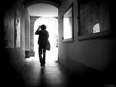 next time I win! (René Mollet) Tags: win walk passage hardday man street silhouette shadow streetphotography streetart emotion looser renémollet new blackandwhite bw bern