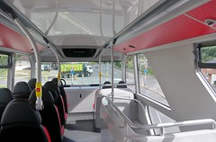 Plymouth Citybus Enviro 400 City (Interior) (Better Living Through Chemistry37) Tags: plymouth plymouthcitybus buses busessouthwest busesuk transport transportation psv publictransport pcb 17plate brandnew spark enviro enviro400 enviro400city envirocity 554 wa14fsz