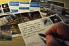 still post-crossing (195/365) (werewegian) Tags: postcard stamp writing snail mail glasgow handwriting werewegian jul17 365the2017edition 3652017 day195 14jul17 postcrossing