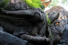 Disney World: Animal Kingdom - Tree of Life (wallyg) Tags: amusementpark animalkingdom baylake disneyworld florida itstoughtobeabug orangecounty orlando thetreeoflife themepark treeoflife waltdisneyworldresort elephant