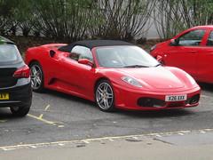 Ferrari 430 Automatic (occama) Tags: x26xxx ferrari 430 spider 2008 red car italian supercar sports presteige cornwall uk