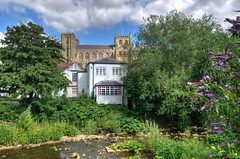 Ripon, North Yorkshire (Baz Richardson (now away until 6 August)) Tags: northyorkshire ripon cathedralcities rivers cities