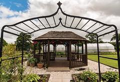 Netherthird Community Gardens-6 (stoneleighboy) Tags: scotlandsgardens ayrshire sculpture pergola artandsculpture seasons summer