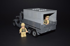 Raiders Truck - Rear (EliteTC) Tags: lego moc vehicle truck raiders indianajones raidersofthelostark