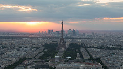 Last Tango in Paris (Andrew G Robertson) Tags: paris sunset sunrise eiffel tower montparnasse tour city cityscape skyline canon5dmkiv mk4 mkiv 5d canon
