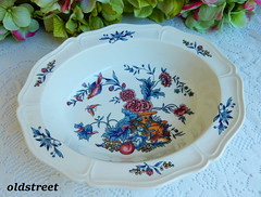 Wedgwood Serving Bowl ~ Williamsburg Potpourri ~ Bird Butterfly (Donna's Collectables) Tags: wedgwood serving bowl ~ williamsburg potpourri bird butterfly