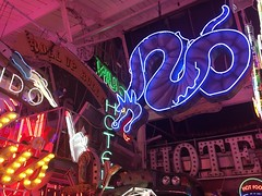 God's Own Junkyard (jericl cat) Tags: walthamstow london gods own junkyard neon sign art collection heaven dragon