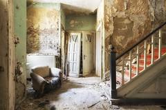 Behind the doors (Photonirik) Tags: urbex decay urban exploration oblivion abandoned abandonné oubli forgotten ue dust