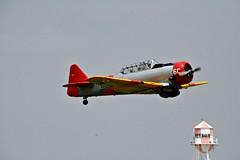 T-6  Texan (The Old Texan) Tags: vintage t6texan nikon airplane texas fredericksburg airshow