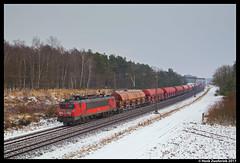 DB Cargo 1615, Holten 12-02-2017 (Henk Zwoferink) Tags: holten overijssel nederland nl henk zwoferink 1600 alstom rijssen db cargo dbc 1615