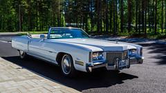 1972 Cadillac Eldorado Convertible (Eldorado Man) Tags: joensuu northkarelia finland cadillac eldorado convertible 1972 jri81 nikond5200 lightroom5