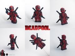 DEADPOOL Custom (MMC My Minifigures Custom Thai) Tags: deadpool legocustom minifigures legodeadpool marvel xmen ryanreynolds