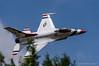 Thunderbird at low level (DrAnthony88) Tags: airshow bluesky lockheedmartinf16c modernmilitary nikkor200400f4gvrii nikond810 riat2017 royalinternationalairtattoo2017 tightturn unitedstatesairforce lowlevel aircraft thunderbirds usaf