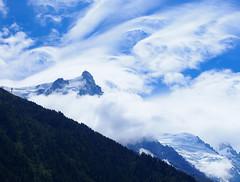 Danse des vents d'altitude - Aiguille du Midi (E*M) Tags: montagne mountain ciel sky cloud paysage lanscape chamonix aiguilledumidi
