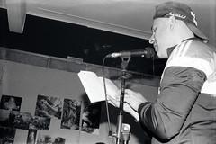 Facu Soto en modo Eros ((laural)) Tags: portraits arte art poetry poesia analoguephotography fotografía analógica 35mm sme smena8m blackwhite eros te llama party buenosaires argentina
