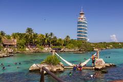 Xel Ha (Jerry Bowley) Tags: rivieramaya xelha snorkeling lagoon ecopark waterslide lighthouse allinclusive