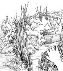 Monolith (detail, c. 2007) (Marcos Telias) Tags: illustration drawing dibujo ilustración sketch boceto bosquejo arte artista artist ballpoint bolígrafo pen lápiz fantasy