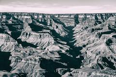 Grand Canyon Crevasse (Explored) (KC Mike Day) Tags: grand grandcanyon arizona rim south southrim crevasse light shadow deep world wonder