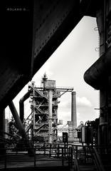 Industrie... Landschaftspark / Duisburg (rol@nd's_bilder) Tags: bw einfarbig sigma1835f18dchsm