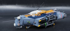 SB-17A2 Heavy bomber (Sunder_59) Tags: lego ldd blender3d mecabricks render space spaceship spacecraft starship starfighter military scifi vehicle bomber