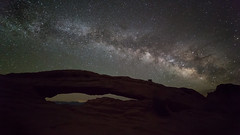 Arching Over Mesa ... Arch (Ken Krach Photography) Tags: canyonlandsnationalpark mesaarch milkyway