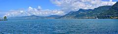 Riviera vaudoise (Diegojack) Tags: villeneuve vaud suisse paysages panorama léman ile peilz bateau château chillon riviera montreux