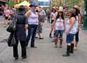 Calgary Stampede, Downtown Action (Sherlock77 (James)) Tags: calgary downtown stephenavenue calgarystampede streetphotography people woman