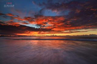 花蓮 太平洋公園 火燒雲