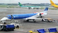G-RJXD ERJ 145EP (douglasbuick) Tags: aircraft erj 145ep grjxd bmi jet plane dublin aviation airport ireland flickr parked airliner airlines samsung